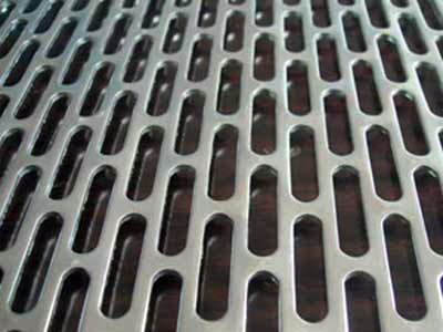 Oval Perforated Sheet