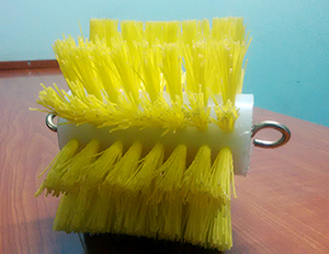 Pneumatic Pipe Cleaning Brush